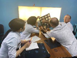 Специалисты ФГБУ ННИИТ Минздрава России обучают коллег в р.Тыва